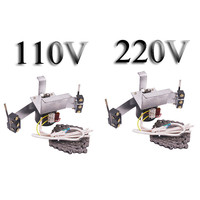 1 PCS 220V OR 110V Motor With Gears Automatic Egg Turning System Chain Length 100cm Chick Hatching Incubator Accessories