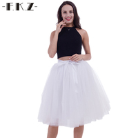 DEXIA Weeding Tutu Skirts Womens 5 Layers 65cm Lace Female Elastic Belt Adult Bridesmaids Ball Gown