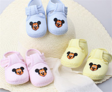 Amazing 0-12 Month Baby Boy Girls Crib Shoes Infant Crib Cotton Fall and Winter Baby Shoes Soft Sole Free Shipping (s3-3)