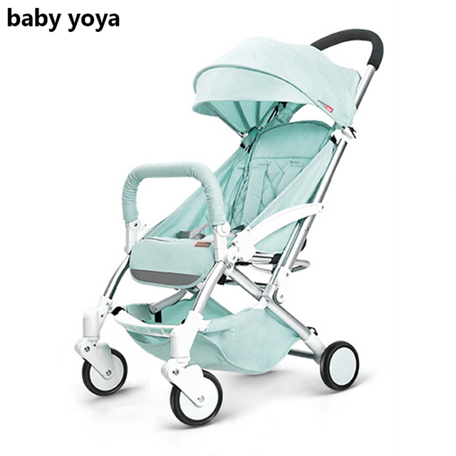 2019  baby stroller new style ultra-light folding can sit and lie high landscape have a gift