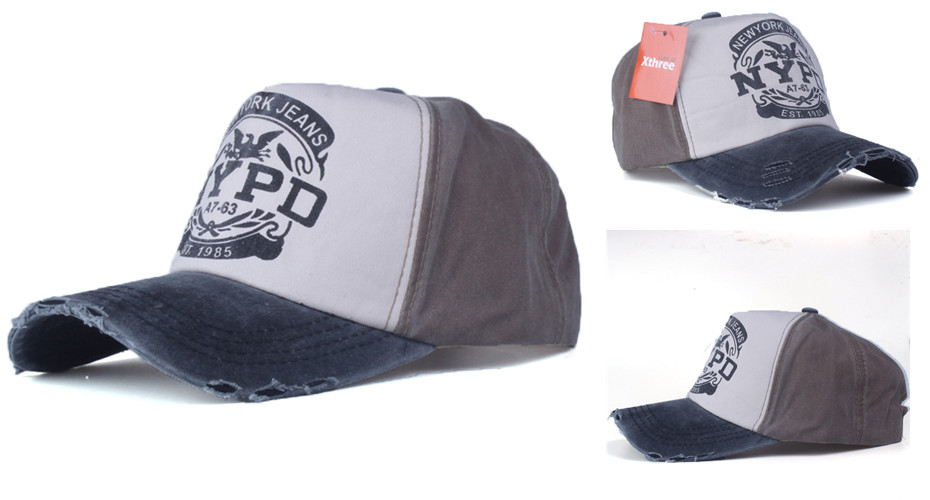 Snapback hats wash cap for men women unisex