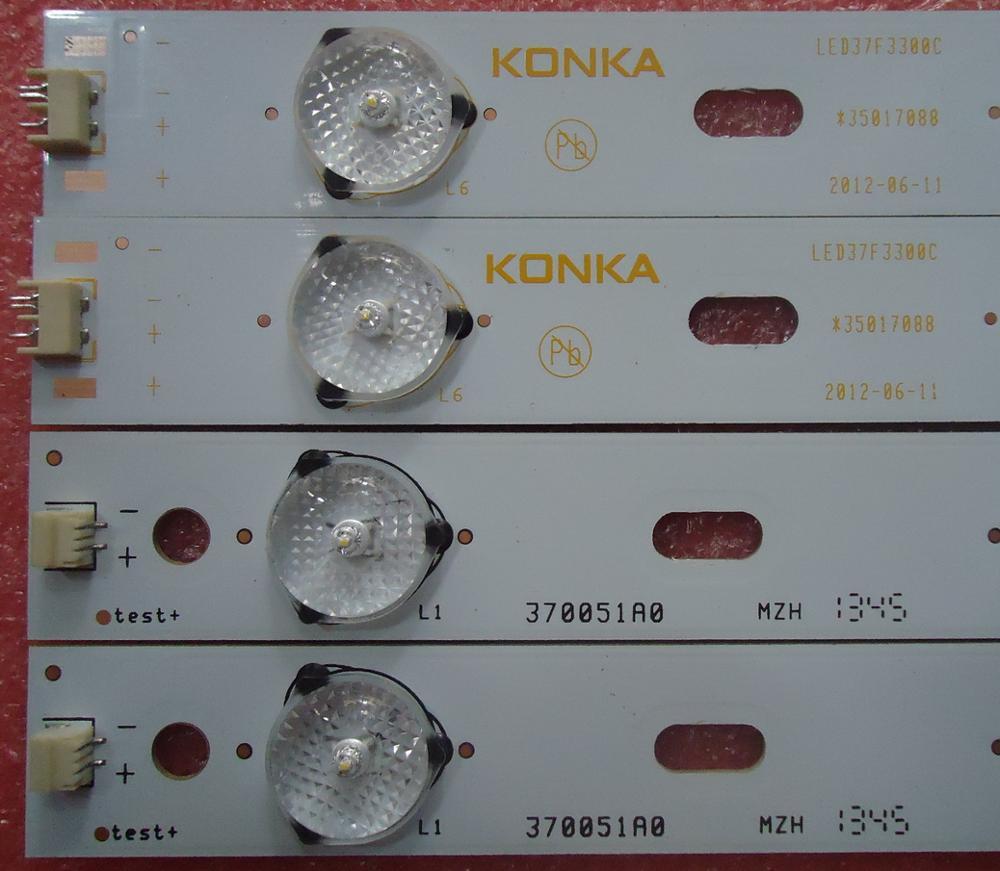 FOR Konka LED37F3300C Article Lamp 35017088 35017087 37021425 1piece=5LED