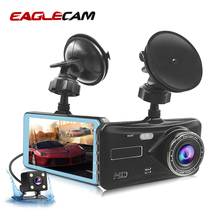 лучшая цена Car DVR Dual Camera Lens Full HD 1080P 4