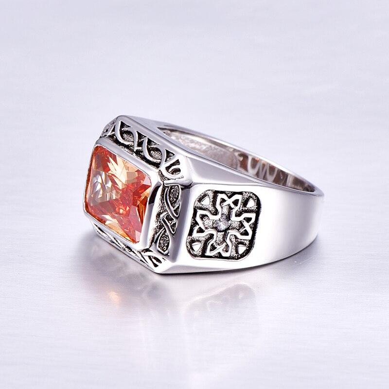 Vintage Sterling Silver Ring for Men 4