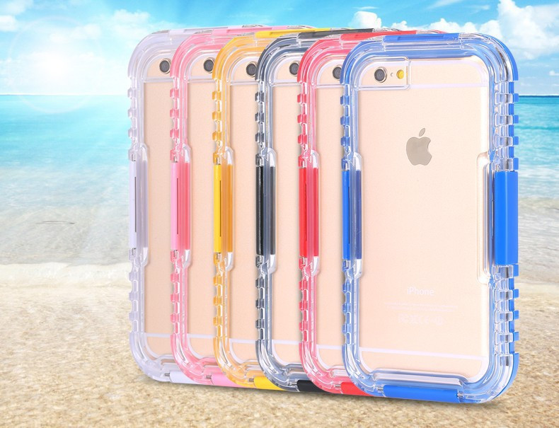 Waterproof Heavy Duty Hybrid Swimming Dive Case For iPhone 6 6S 4.7