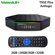 T95Z Plus Smart Android TV Box Amlogic S912 Octa core RAM 2GB/3GB+ROM 16GB 32GB TV BOX Android 7.1 WiFi 5.8G 4K HD Media Player