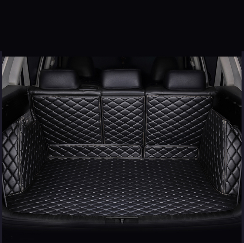 Custom car trunk mats for Cadillac all models SRX XT5 CT6 ATSL XTS car styling auto accessories all surrounded durable carpet special car floor mats for cadillac ct6 xts xt5 sls cts ats escalade srx xlr most models