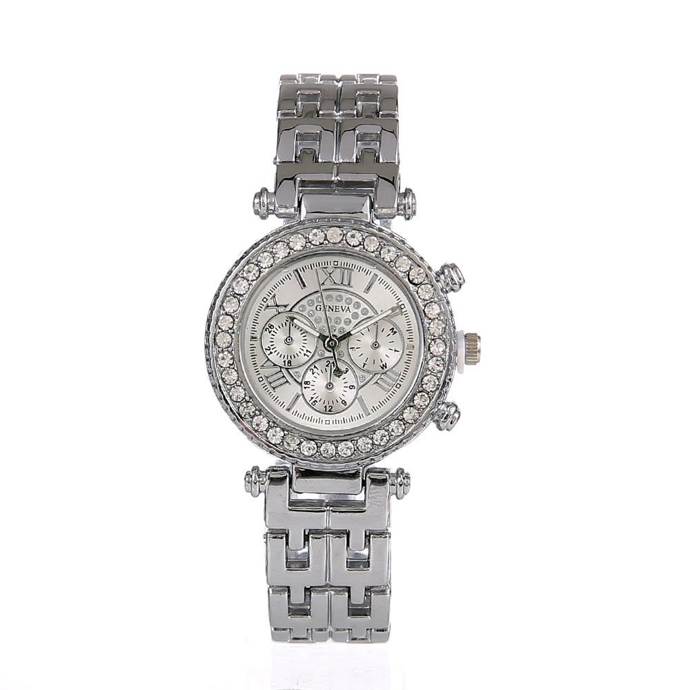 Top Fashion Leather Strap Quartz Watch For Women top fashion leather strap quartz watch for women