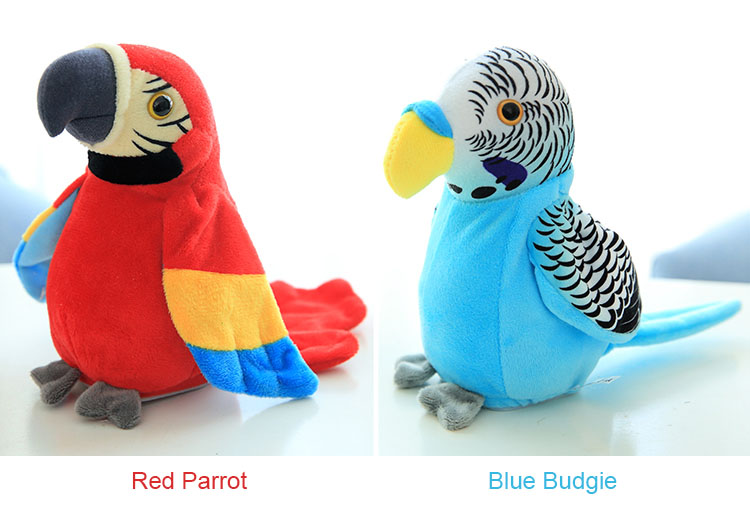 baby Talking Parrot Plush Toy