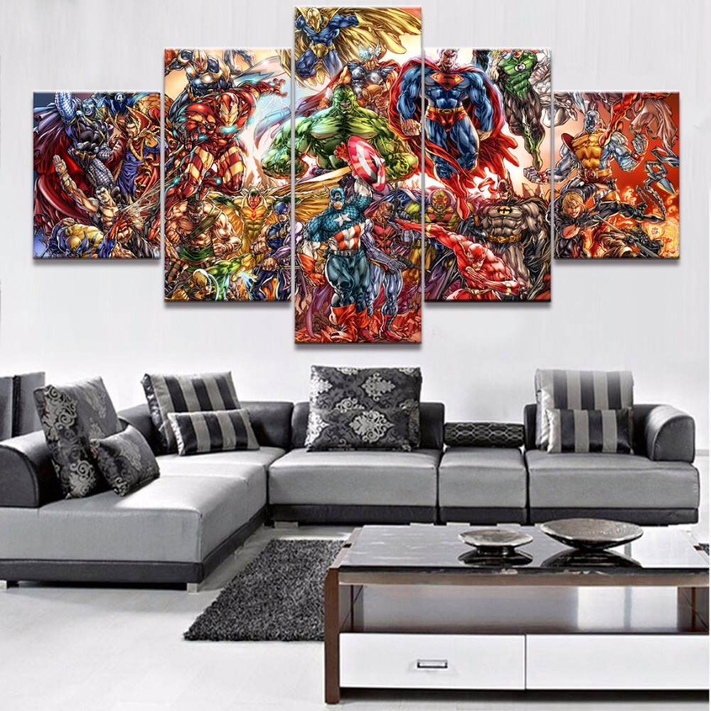 Dc Comics Wall Art online get cheap dc comics paintings -aliexpress | alibaba group