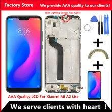 Xiaomi-Ekran do wymiany, część zastępcza, wyświetlacz LCD, 5,84 cali, AAA jakość, Redmi 6 Pro, rozdzielczość 2280x1080
