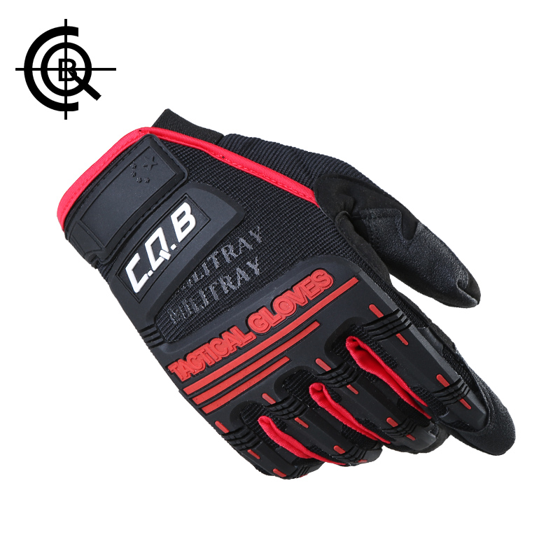CQB Outdoor Hiking Camping Safety Gloves Super Technician Full Finger Tactical Cycling Riding Waterproof Skiing Glove ST0093