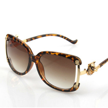 Nueva Fox Gafas de Sol Moda Vintage de Diamantes de Gran Tamaño Gafas de Sol de Espejo Shades Gafas Mujer Gafas De Sol Femininos