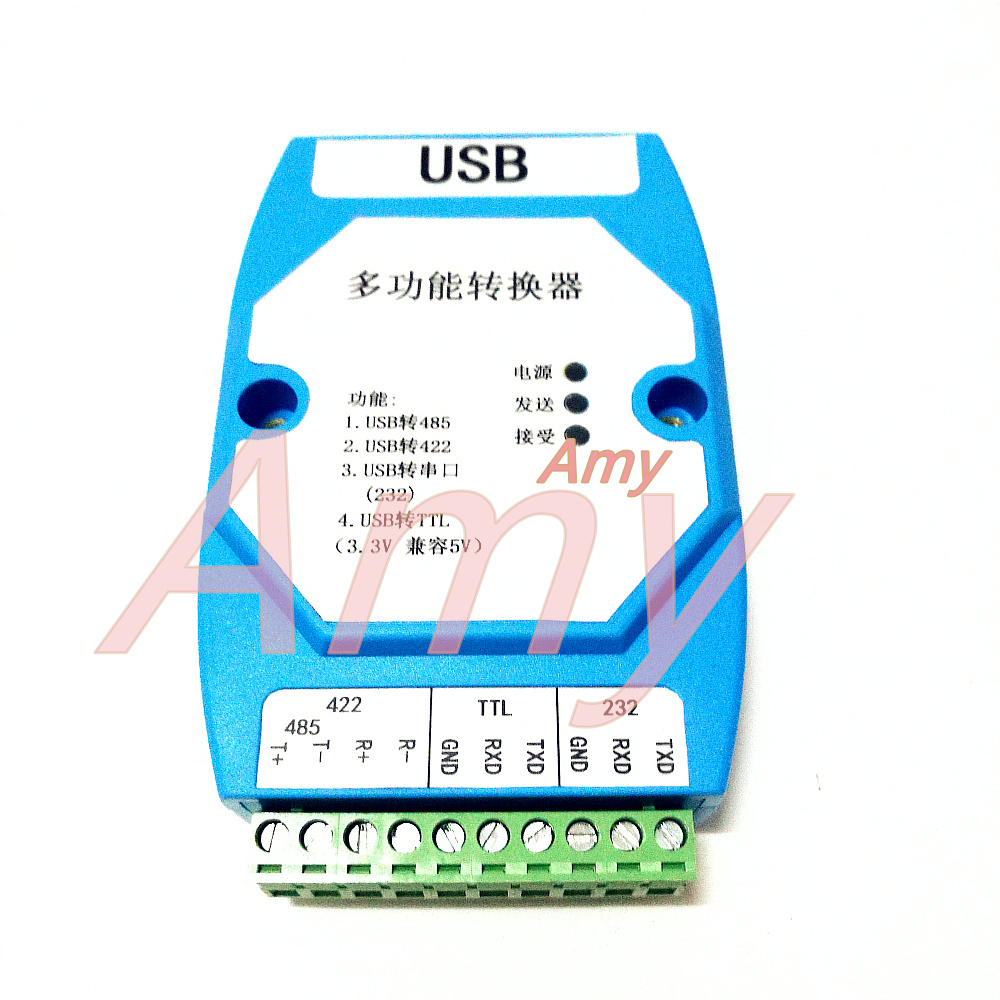 USB vers rs422/485/série 232/TTL (5 V/3.3 V) isolation optique surge protection FT232