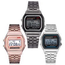 Men Sport Watch LED Digital Waterproof Quartz Wrist Watch Dress Golden Wrist Watch Women Men Masculino Relogio Watch Clock C20