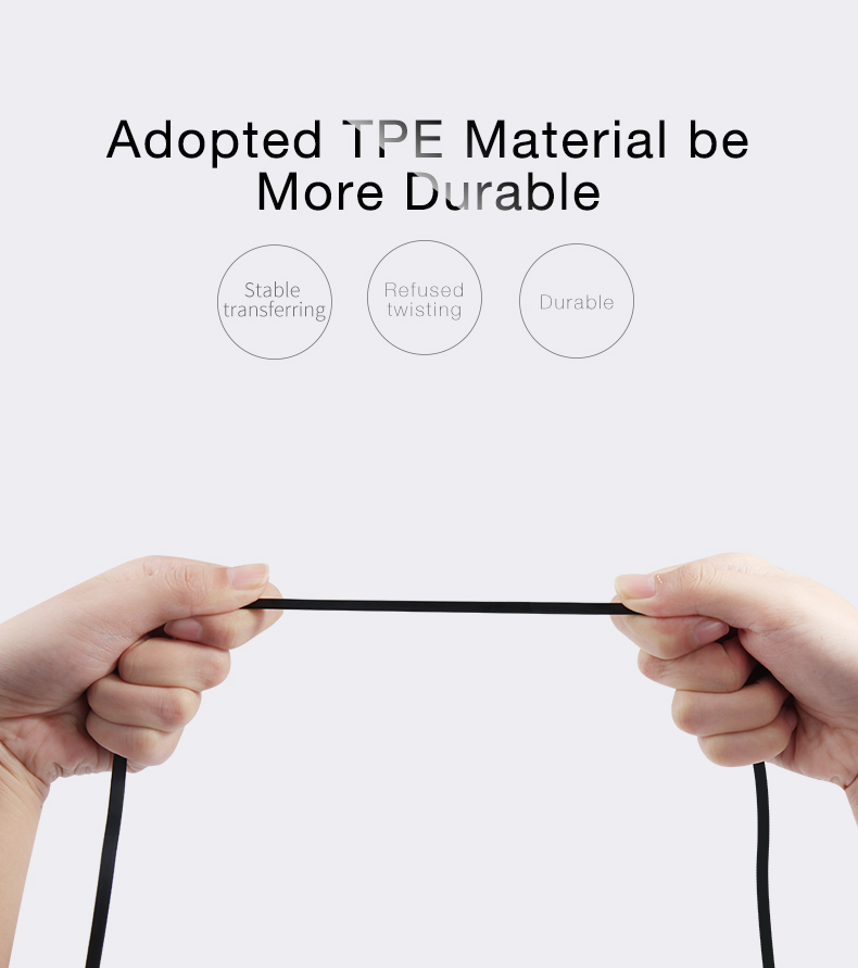 Cafele 3 in 1 Retractable Charging Cable for iPhone Xiaomi Huawei