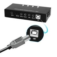 חדש 8 הערוץ 3D 7.1 USB2.0 חיצוני כרטיס קול תמיכת תיבת גבוהה Vista עם תקליטור מנהל התקן דיגיטלי הזרמת אודיו מהירות