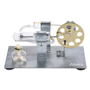 Image 2 - Aibecy Mini sıcak hava Stirling Motor Motor modeli akışı güç fizik deney modeli eğitim bilimi oyuncak hediye çocuklar için