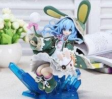 Anime Cute Hermit Yoshino Rabbit Costume Zadkiel DATE A LIVE Dating War 21CM PVC Action Figure Doll Toy