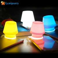 LumiParty Transparent Silicone Phone holder, Clip Cellphone Flash Light Lampshade for Any Phones, Small Lamp Nightlight