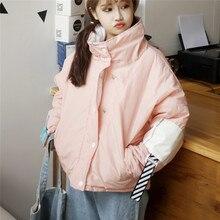 Новый Корейский зимой теплую одежду и щедрый хлеб конфеты цвет толстый хлопчатобумажный пиджак с форманом BF студенток