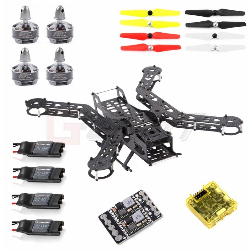 GARTT JUPITER-X3 300 Carbon Fiber RC Quadcopter Frame kit Combo RC Drone Photography