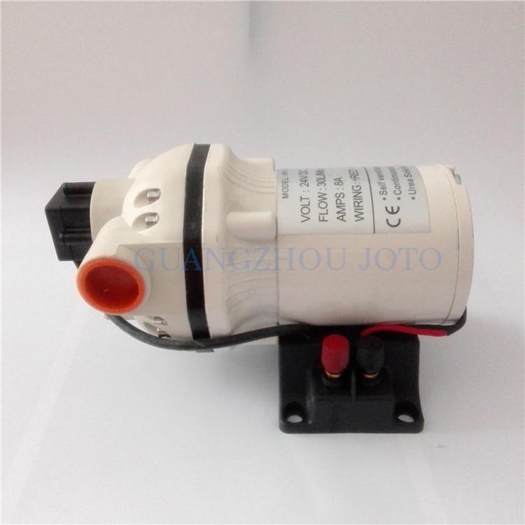 Petit 24 V Électrique DC Pompe machine diesel Urée Huile Pompe Chimique Industriel Auto-amorçage Pompe À Membrane Résistant À La Corrosion