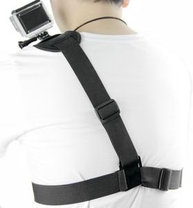 Image 5 - SnowHu für Gopro Zubehör Schulter Gurt Berg Chest Harness Adapter Für Go Pro hero 9 8 7 6 5 4 3 für Xiaomi Yi Sj4000 GP199
