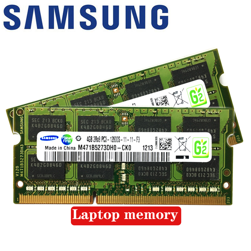 2x Dual-channel Laptop <font><b>Notebook</b></font> <font><b>8GB</b></font> 1GB 2GB 4GB <font><b>DDR2</b></font> DDR3 PC2 PC3 667Mhz 800Mhz 1333Mhz 1600Mhz 5300S 6400S 12800S RAM memory image