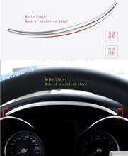Lapetus Car Styling Cruscotto Up Bordo Laterale Coperchio Della Piastra di Copertura Trim Misura Per Mercedes Benz GLC X253 CLASSE C W205 c200 2015-2019