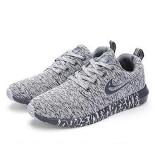 2018 New Breathable Men Casual Shoes Woven Sneakers Fashion Trainers For Flats Tenis Masculino Adulto