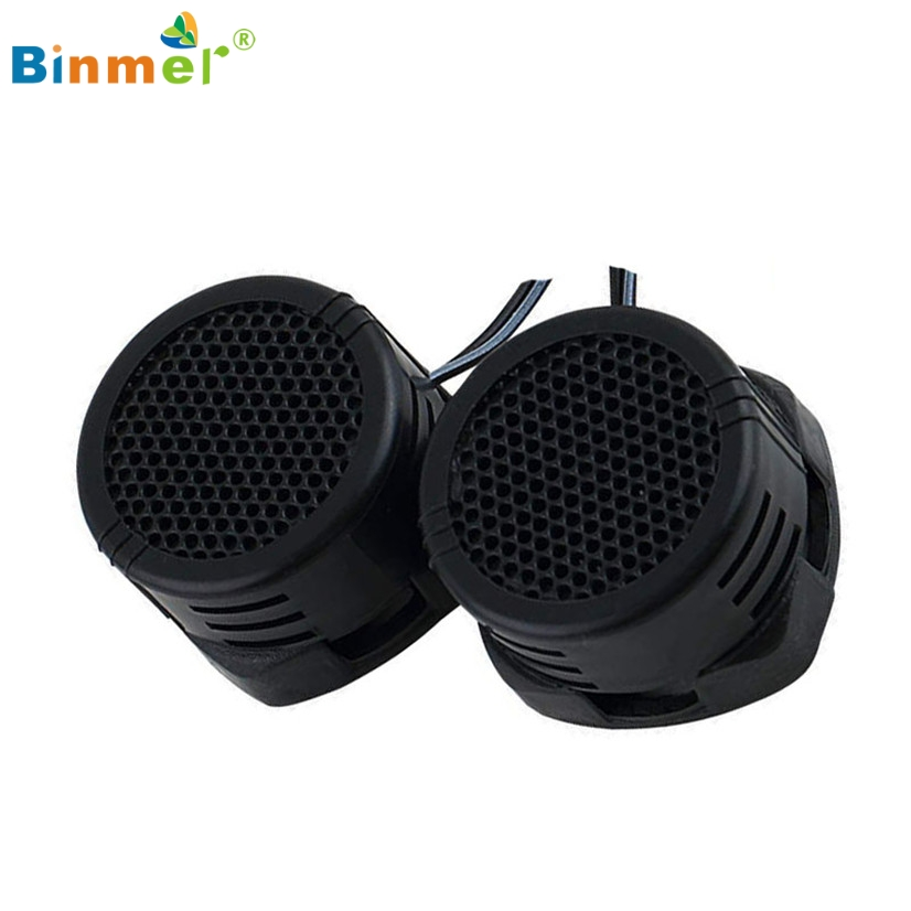 Binmer Hot Selling 2 x 500 Watts Super Power Loud Dome Tweeter Speakers for Car 500W Good Quality Drop Shipping