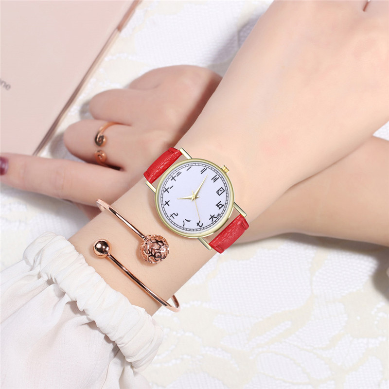 FUNIQUE Creative Watch Women Watch Student Quartz Analog Chinese - Dameure - Foto 2