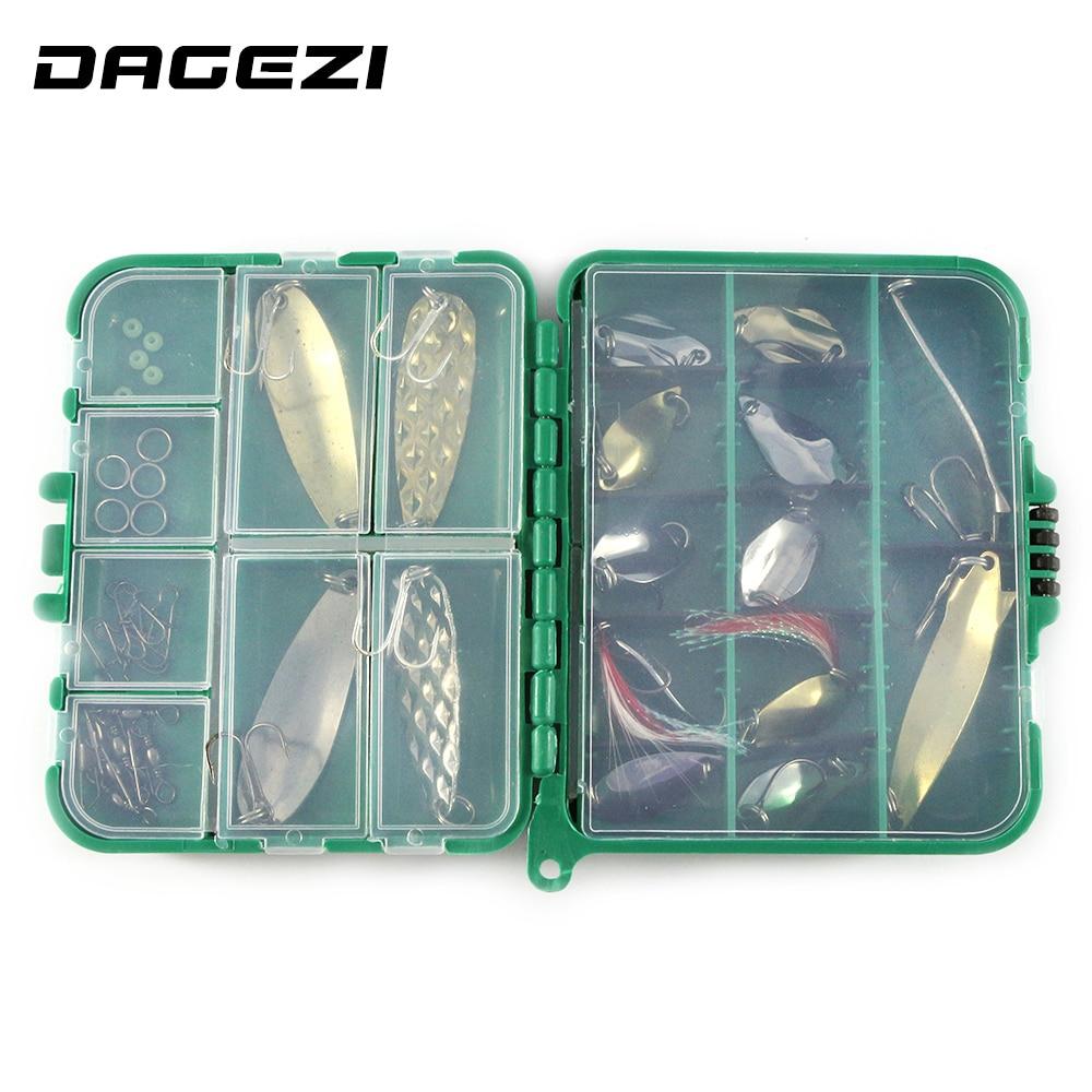 DAGEZI 37pcs / set Mješoviti meki mamci hard ribolov pribor za - Ribarstvo - Foto 4