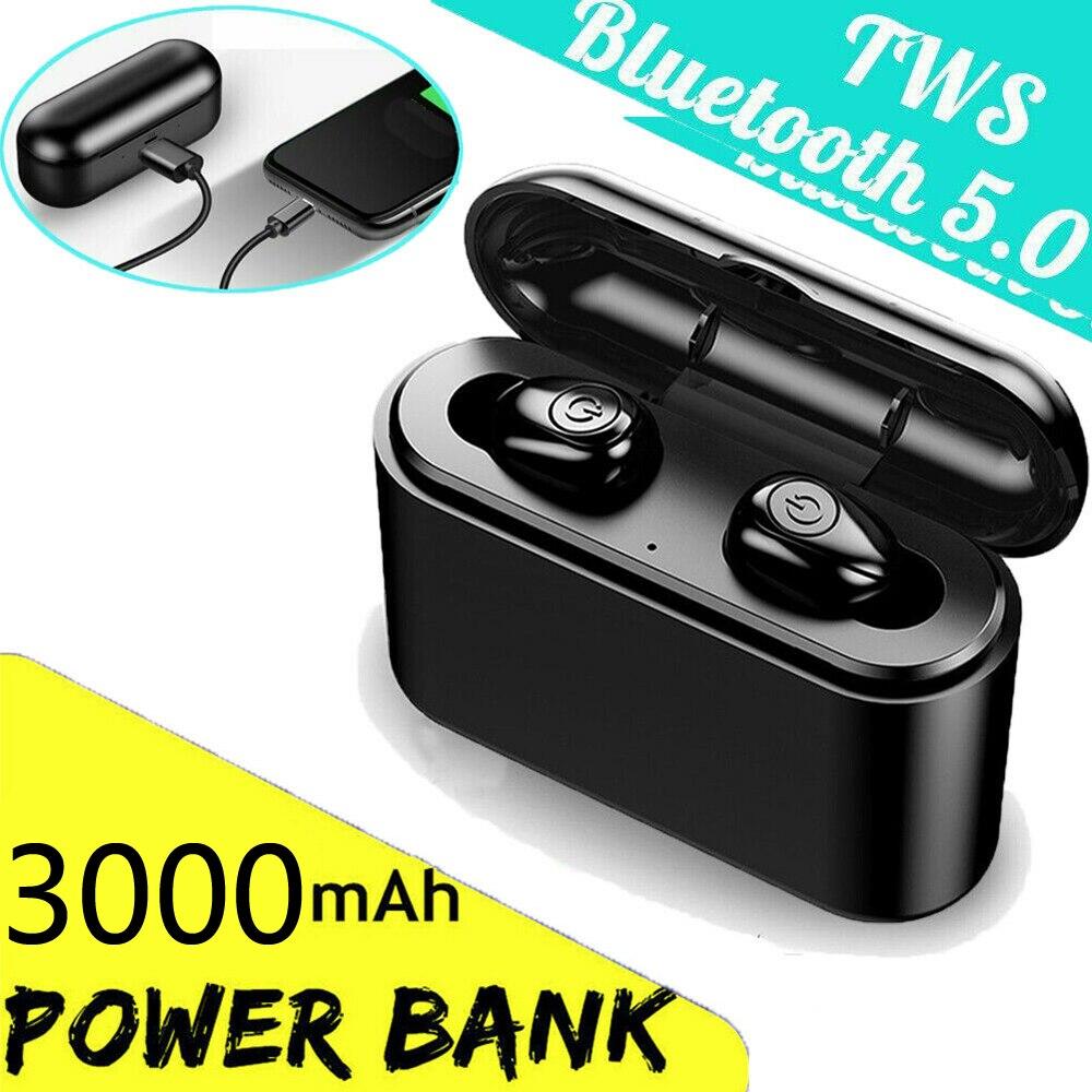 3000mah TWS X8s Wireless Bluetooth 5.0 Headset IPX7 Waterproof Mini Earphones Twins Earbuds 5.0 Stereo Headphones for Phone