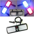 Led car sun visor light 12v Cigarette lighter powered Automotive flashing warning Emergency Led flasher Police Caution lights