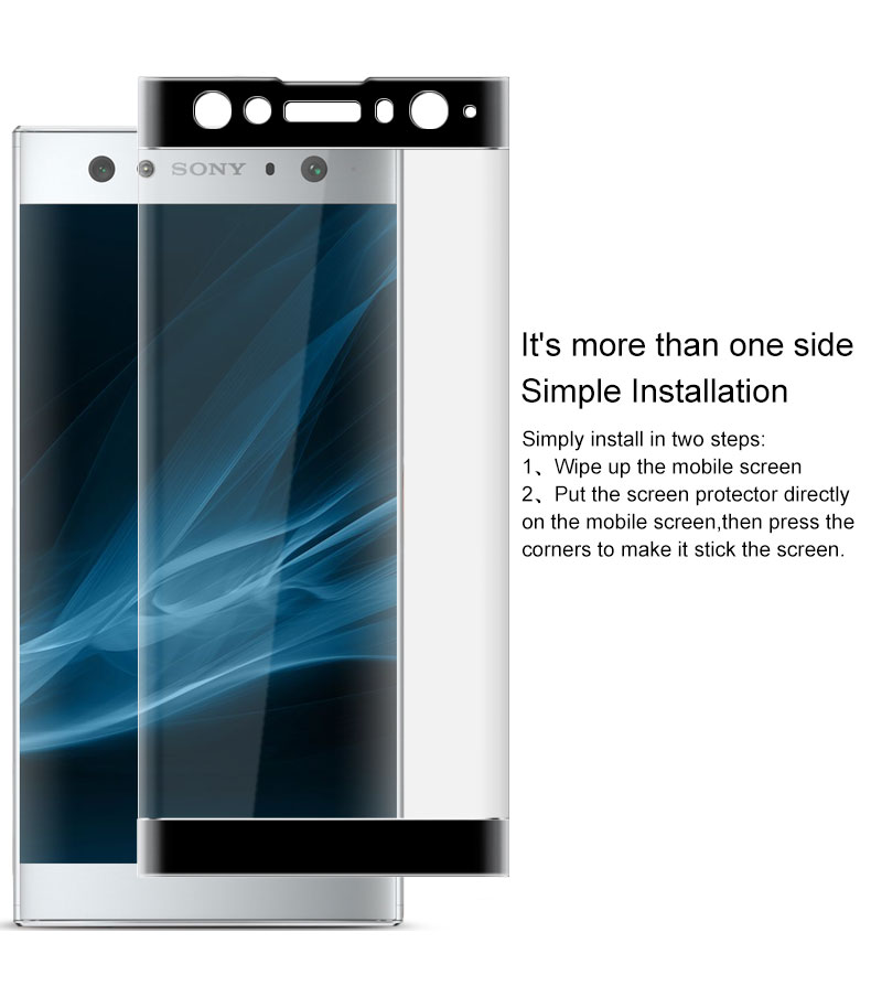 9H Full Cover Tempered Glass For Sony Xperia XA2 Ultra High Quality Screen Protective Film For Sony Xperia XA2 Tempered Glass in Phone Screen Protectors from Cellphones Telecommunications
