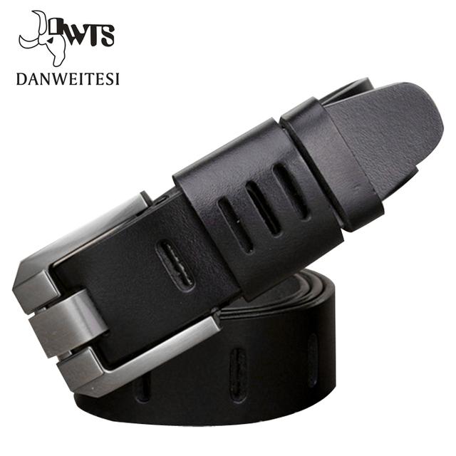 [Dwts] 2016 cinturones de diseñador hombres de alta calidad genuina correa de cuero de lujo de estilo militar hombre cintura cinturón de negocios pequeños