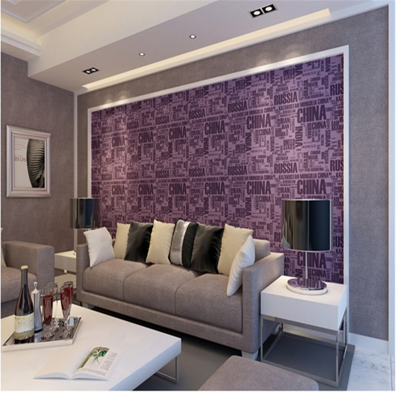 3d Mural Wallpaper Letter Wall Decor PVC Waterproof Colour Roll Wallpaper Wall Murals Modern Living Room Furniture Ideas Study blue earth cosmic sky zenith living room ceiling murals 3d wallpaper the living room bedroom study paper 3d wallpaper