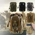 Saco dos homens sobre Army Tactical Universal Macio Caso de Telefone cintura Esporte pacote de Cintura Casuais saco corrida saco do Malote Tático Militar