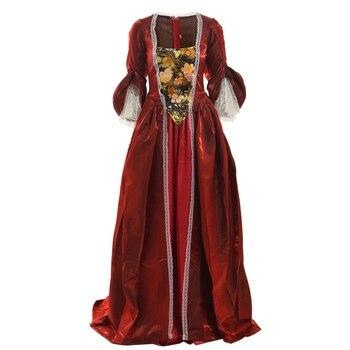 78c6d07f7 Vestido Medieval del Renacimiento vestidos de la princesa de la Reina  cosplay gótico victoriano María Antonieta Guerra civil vestido de baile de  la bella ...