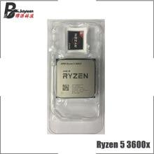 AMD Ryzen 5 3600X R5 3600 × 3.8 Ghz の 6 コア Twelve スレッド CPU プロセッサ 7NM 95 ワット l3 = 32 メートル 100 000000022 ソケット AM4 新ないファン