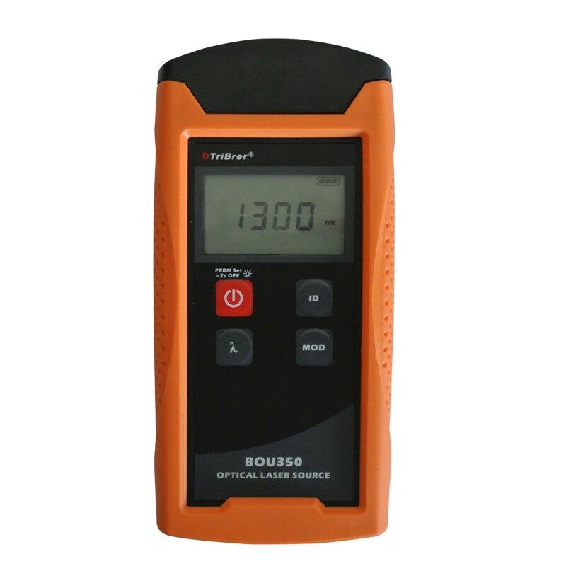Tribrer BOU350S3S5 1310/1550nm Singlemode Handheld Optical Fiber Optic Light SourceTribrer BOU350S3S5 1310/1550nm Singlemode Handheld Optical Fiber Optic Light Source