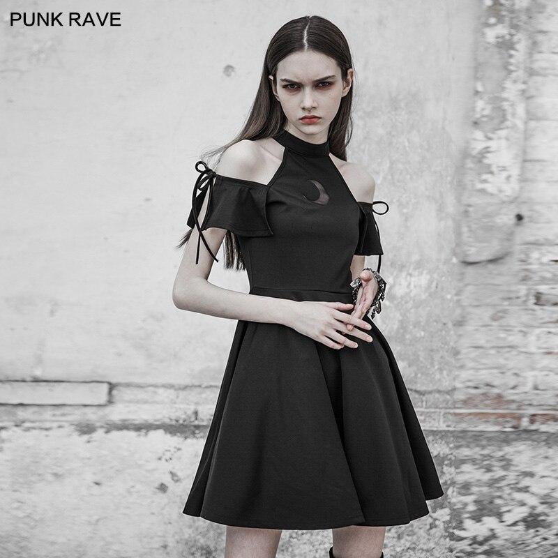 PUNK RAVE 2018 nouveau design l'astrologie série bretelles robe OPQ-313LQF