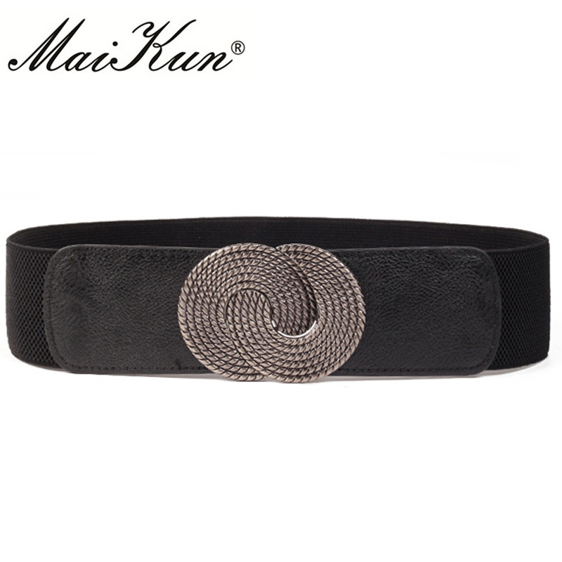 Casual Elastic Wide Belts for W