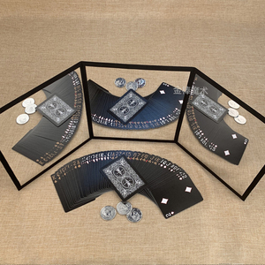 Image 4 - 3 Way Mirror By Sean Yang Practicing Mirror For Card Magic Gimmick Illusions Magic Tricks Accessories Stage Professional Magic