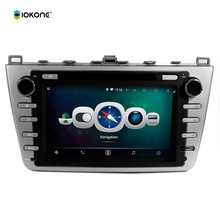 8″ Android Quad core HD mirror link Car DVD Radio Player Stereo for MAZDA 6 Ruiyi Ultra with rotating UI RDS WIFI SWC GPS CANBUS