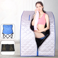 Infrared Sauna Personal Folding Home For Sauna Spa Dry Portable Bath Room Carbon fiber plate heating Lose Weight Sauna Cabin