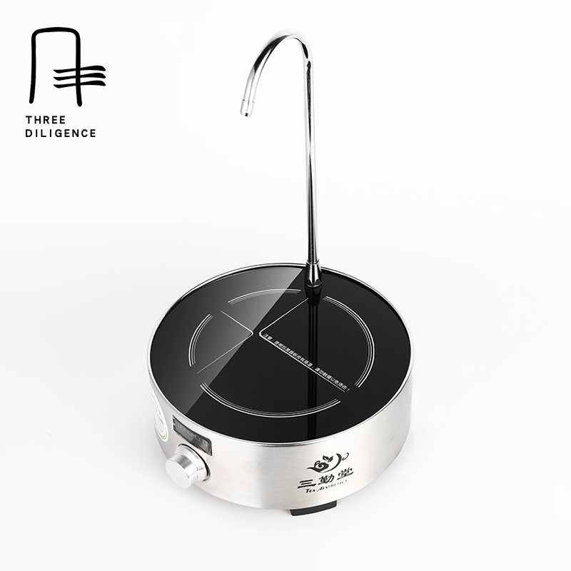 Radiationless 110 V 220V Electric Water Heating Boiler Ceramic Mini Cooker Automatic Mute Timing Pumping Tea Furnace Pots