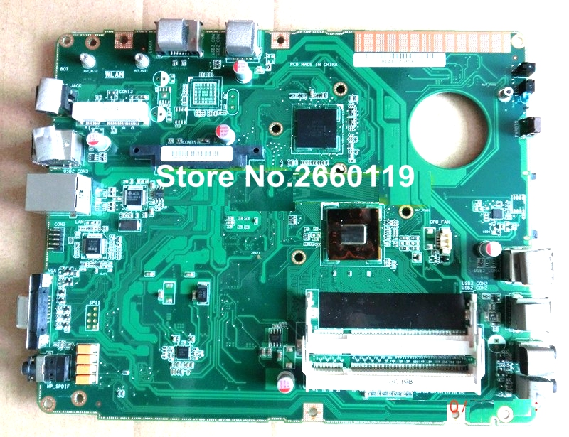 ФОТО 100% Working Laptop Motherboard For Asus EB1007 Main Board Fully Tested and Cheap Shipping